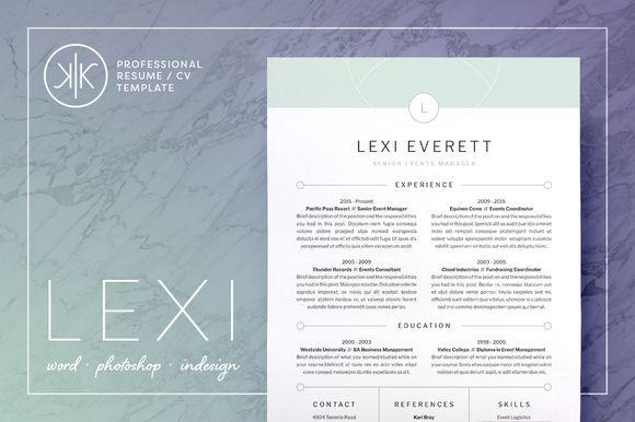Resume Elegant CV