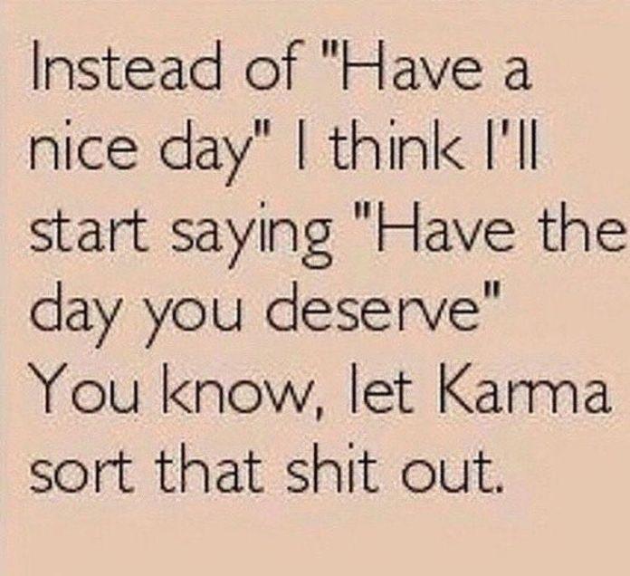 work quote   karma
