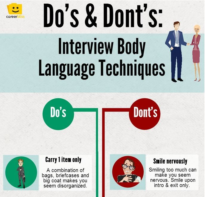 Nice Marvelous Infographic : Before Your Next Interview Read These Body Language  Tips To Help You Secure