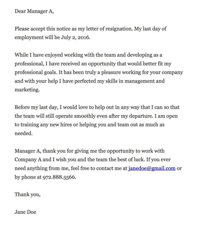 infographic resignation letter advice jobloving com your