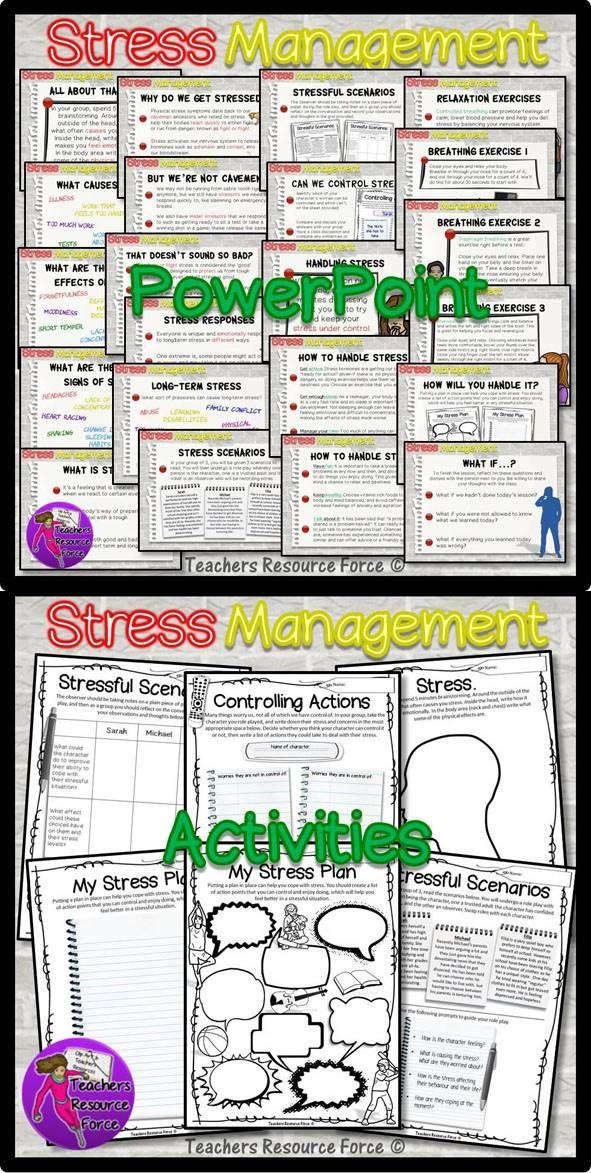 Stress management : Stress Management for teens ...