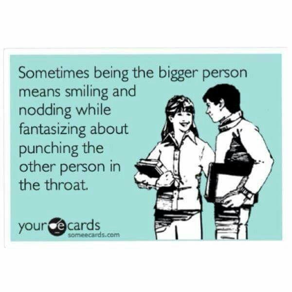 Work Quote Hahaha Yepmental Punch To The Throat At Least 5