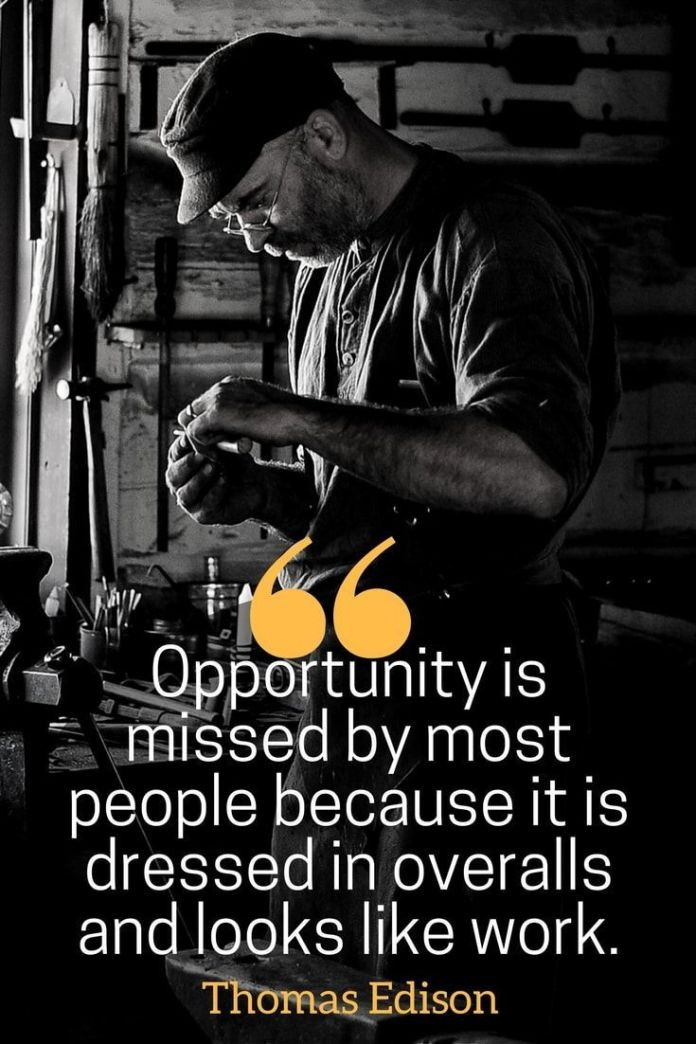 Work Quotes Hard Work Pays Off Quotes Opportunity Is Missed By