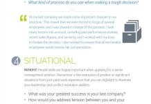 Infographic The Top 6 Most Common Interview Questions For Senior