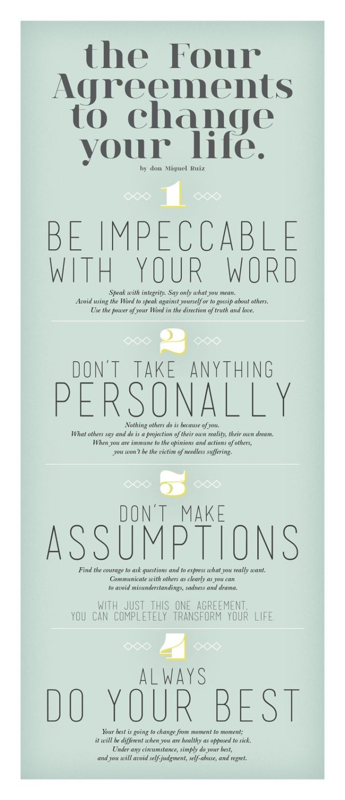 Work Quotes The Four Agreements Don Miguel Ruiz Influido Por