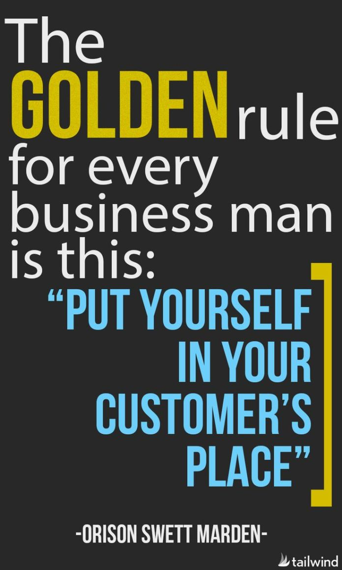 Golden S Quotes | Work Quotes The Golden Rule For Every Business Man Is This Put