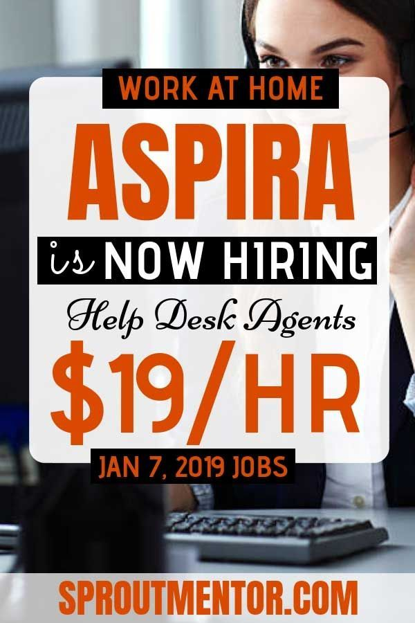 Work Quotes Aspira Is Now Hiring Work From Home Help Desk Agents