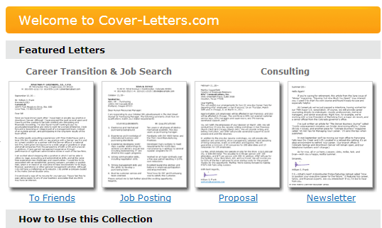 1 001 free cover letter examples for consultants career changers