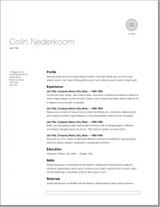 Good Looking Resume Resume Sample