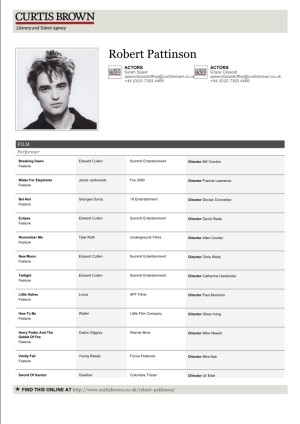 Commercial Acting Resume Format. Acting Resume Sample Actors Actor