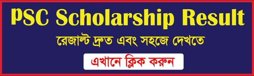 psc scholarship result