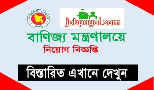 Ministry of Commerce mincom Job Circular