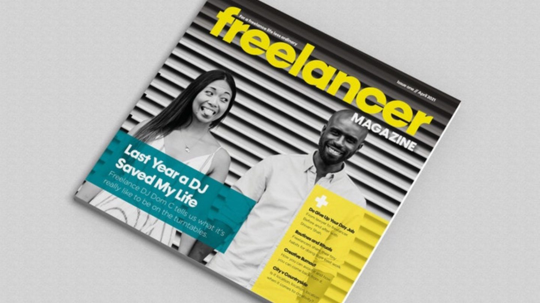 Photo of Freelancer Magazine front cover