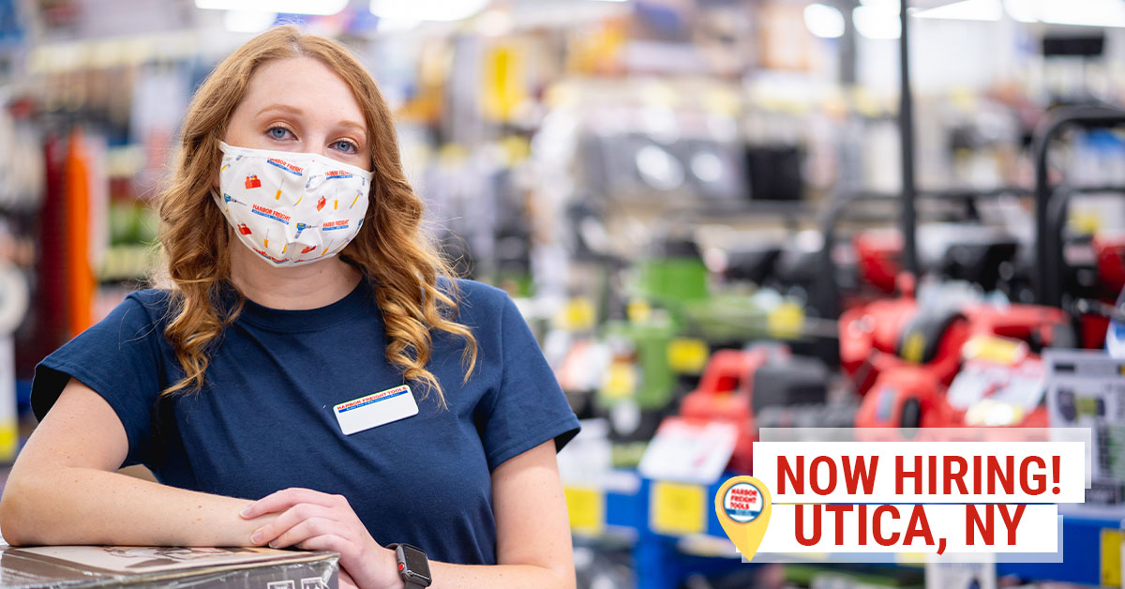 Now Hiring Part-Time Sales Associates in Utica, NY
