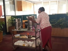 Office Tea Lady