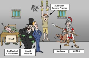 State of the Australian General Practice in pictures. Medical jobs