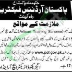 POF Artisan Training Scheme
