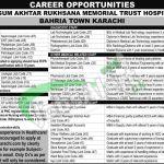 Begum Akhtar Rukhsana Memorial Trust Hospital Khi