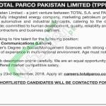 Total PARCO Jobs