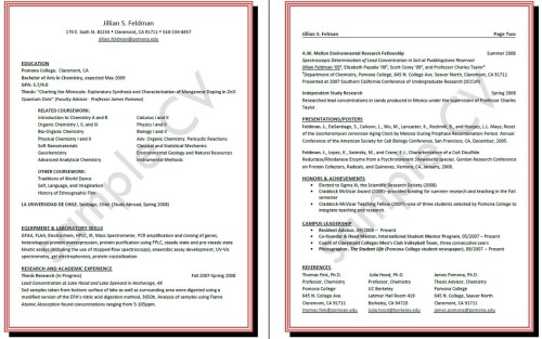 Curriculum Vitae - curriculum vita