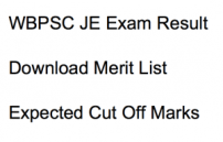 wbpsc je result 2017 2018 junior engineer merit list expected cut off marks west bengal public service commission civil mechanical electrical