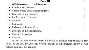 ossc paper III