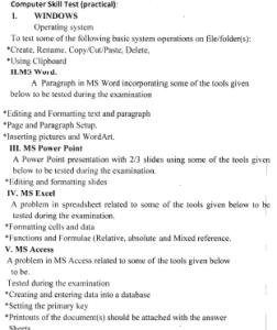 ossc ja jc clerk assistant practical syllabus exam pattern recruitment selection process