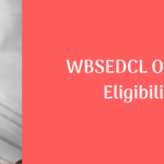 WBSEDCL Office Executive Eligibility Criteria Age Limit Computer Qualification