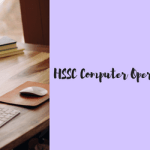 HSSC Computer Operator Instructor Recruitment 2018 Vacancy 1399 Post