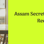 Assam Secretariat Stenographer Recruitment 2018 Vacancy 57 Psts