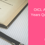 OICL AO Previous Years Question Paper Download PDF Prelims Mains