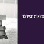 TSPSC CDPO Syllabus Exam Pattern Download Selection Process