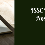 JSSC Inter Level Answer Key 2018 CISCE Prelims Solution Sheet