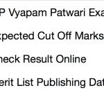 MP Vyapam Patwari Result 2018 RELEASED !!! Cut Off Marks Merit List