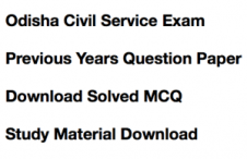 opsc civil service previous years question paper download solved old exam paper general studies prelims mains odisha psc old last earlier answer key solution solved