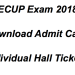JEECUP Admit Card 2018 Download UP Polytechnic Hall Ticket