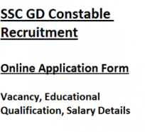 ssc gd constable recruitment notification application form 2017 2018 vacancy jobs staff selection commission general duty