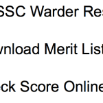 OSSSC Warder Result 2018 Merit List Cut Off Marks Expected Date