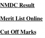 nmdc result 2018 maintenance assistant trainee merit list expected cut off marks score qualifying score minimum expected