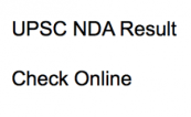 upsc nda result 2018 check online