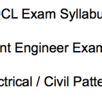 TSSPDCL AE Syllabus 2018 Electrical Civil Assistant Engineer Exam Pattern Selection Process
