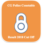 CG Constable Result 2018 Cut Off Marks Merit List @ cgpolice.gov.in