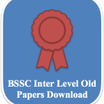 BSSC Inter Level Previous Question Paper Download | Old Papers PDF