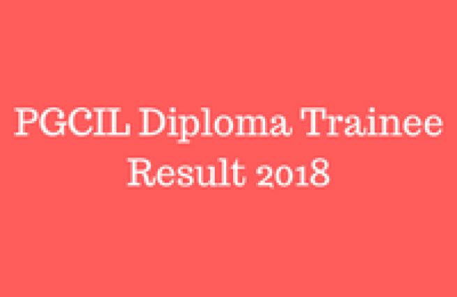 pgcil diploma trainee result 2018 cut off marks powergridindia.com check online merit list pgcil cut off marks 2018