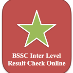 BSSC Inter Level Result 2018 Cut Off Marks Merit List Prelims Exam 2014