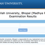 Barkatullah University Result 2018 | Check Online BA 1st 2nd 3rd Year Semester Wise