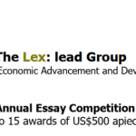 lexlead annual essay competition 2019 jobsandschools