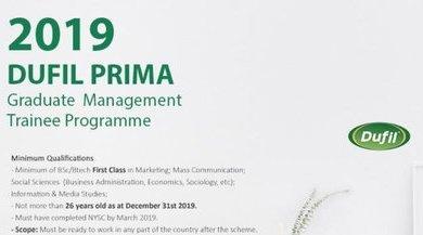 Photo of Dufil Prima Foods Plc Graduate Management Trainee Programme