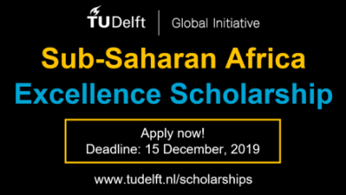 Photo of Study in Delft University of Technology Excellence Scholarships 2020 for Africans