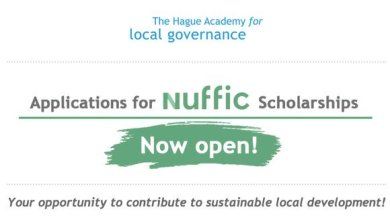 Photo of Hague Academy of Local Governance/Nuffic Scholarships 2020 for civil servants